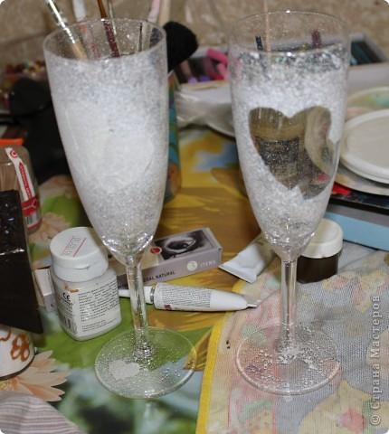 Попробую сделать свои первый МК на примере таких бокалов:) Делала я его с помощью Япоши:) фото 2