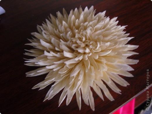Хризантемы из ткани...много цветов... фото 12