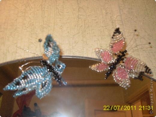 моя первая работа! чудесная бабочка! фото 2