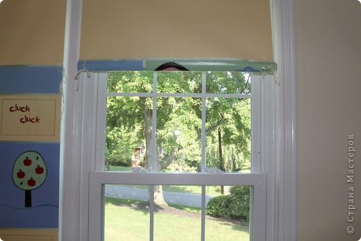 Нетрудно догадаться, что я люблю нестандартные шторы :).   Выкройку делала сама, т.к. не нашла ничего готового, что мне было по душе. фото 5