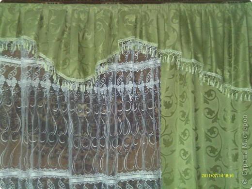 первая попытка сшить шторы