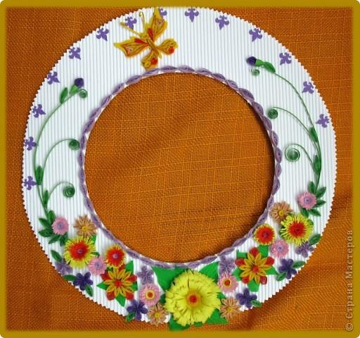Круглая рамочка для фото фото 2