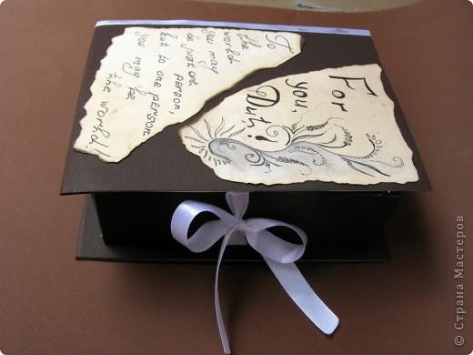 Коробочка для книги воспоминаний фото 2