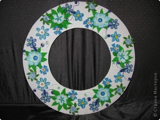Круглая рамочка для фото фото 1