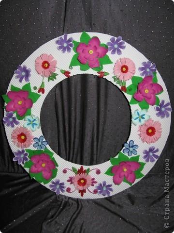 Круглая рамочка для фото фото 6