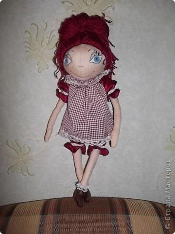 Моя первая кукла-тыквоголовка фото 2