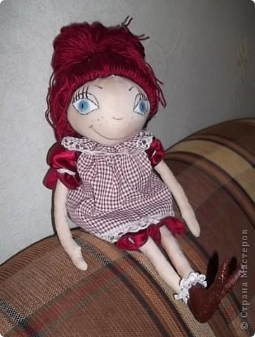 Моя первая кукла-тыквоголовка фото 3