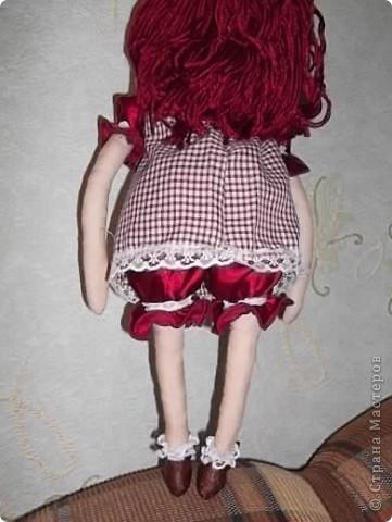 Моя первая кукла-тыквоголовка фото 4