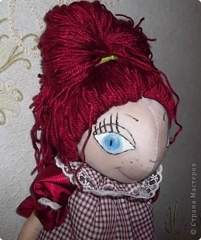Моя первая кукла-тыквоголовка фото 1