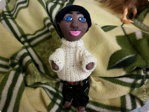 В мой день рождения у меня слепились вот эти две куклы  фото 2