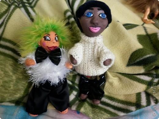 В мой день рождения у меня слепились вот эти две куклы  фото 3