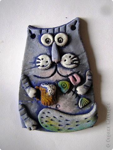 Голубой кот - правша. фото 1