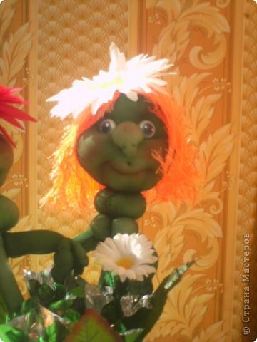 Здравствуйте, Мастерицы! сейчас лето, захотелось чего веселого и цветущего- вот и появились эти ромашки. фото 2
