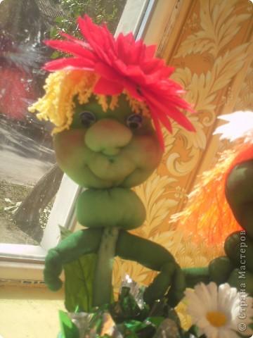 Здравствуйте, Мастерицы! сейчас лето, захотелось чего веселого и цветущего- вот и появились эти ромашки. фото 3