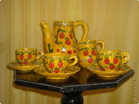 Чайный сервиз фото 1