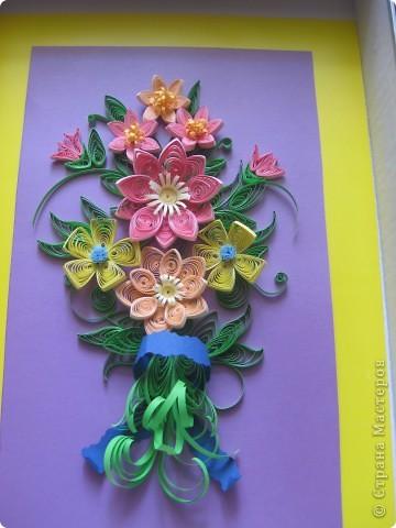 Летнии цветы в букете. фото 3