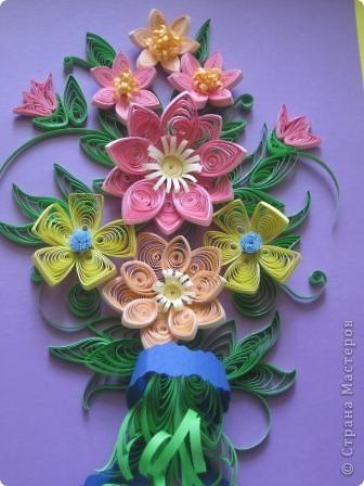 Летнии цветы в букете. фото 1