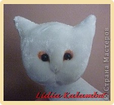 Белый котёнок. Мастер класс. фото 43