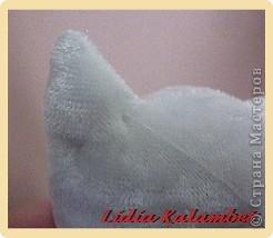 Белый котёнок. Мастер класс. фото 47