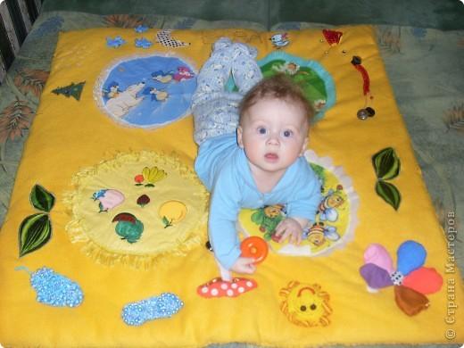 Мой развивающий коврик фото 2