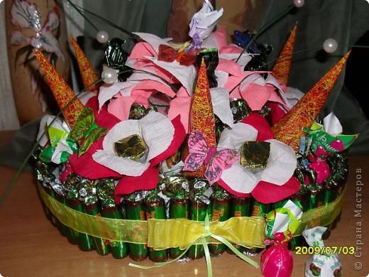 Тортик из конфет