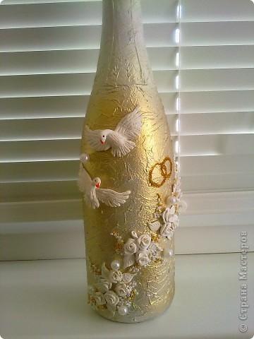 Моя первая свадебная бутылочка в подарок фото 1