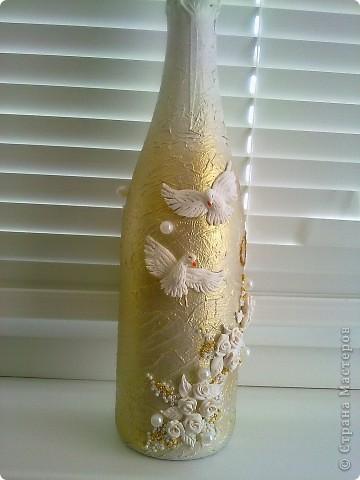 Моя первая свадебная бутылочка в подарок фото 2