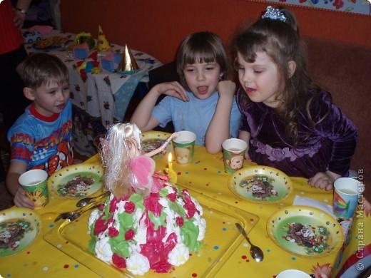 На  5-летие  моей  маленькой  принцессе  делала такой  тортик фото 2