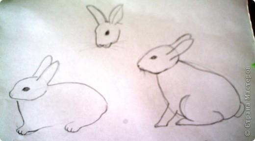 """В рамках Дня """"Аплодисменты"""" состоялся у меня открытый урок по трудовому обучению (технологии). Тему выбрала такую """"ЗАЙЦЫ. РАЗНЫЕ ТЕХНИКИ"""". Год зайца, а как иначе. Надо к символу года попочтительнее быть. Это наша выставка, которая была создана в конце урока. Итак, разделила и детей, и их родителей на группы. фото 22"""