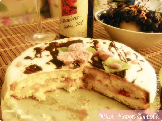 Тортик, который я утащила на работу! фото 3