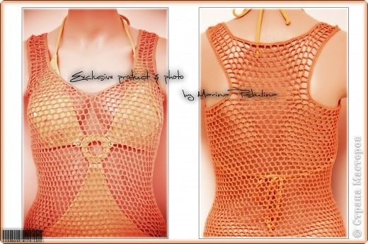 Платье-сеточка для солнца, моря и песка ) фото 2