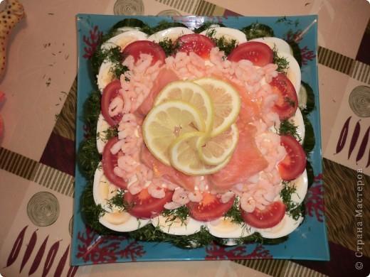 Бутербродный торт фото 2