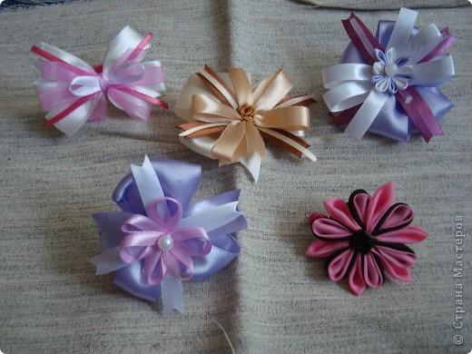 Бантики-резинки для девочек фото 1