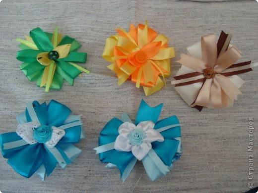 Бантики-резинки для девочек фото 2