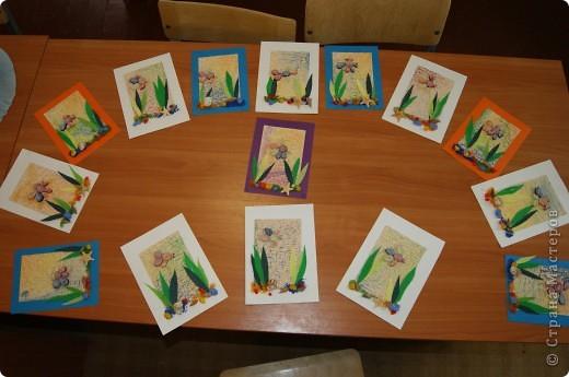 Посмотрите, какие замечательные работы получились у наших малышей фото 1