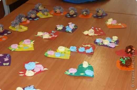 Посмотрите, какие замечательные работы получились у наших малышей фото 4