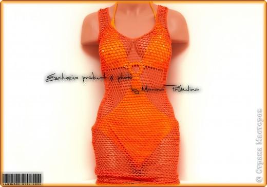 Платье-сеточка для солнца, моря и песка ) фото 1