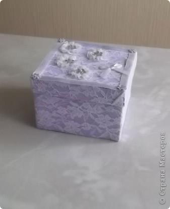 Недавно у мамочки был День Рождения, для подарка решила сделать вот такую  нарядную коробочку. фото 2