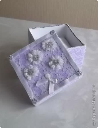 Недавно у мамочки был День Рождения, для подарка решила сделать вот такую  нарядную коробочку. фото 1