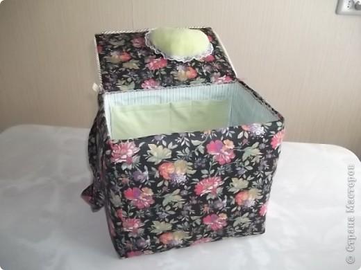 Недавно у мамочки был День Рождения, для подарка решила сделать вот такую  нарядную коробочку. фото 5