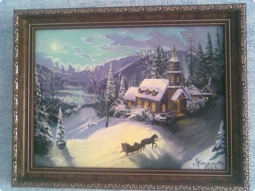 """"""" Рождество """" холст, масло  Мне кажется, что искусство должно давать счастье и радость, иначе оно ничего не стоит. В жизни так много горя, так много пошлости и грязи, что если искусство тебя будет сплошь обдавать ужасами да злодействами, то уже жить станет слишком тяжело.  В.Д.Поленов фото 1"""