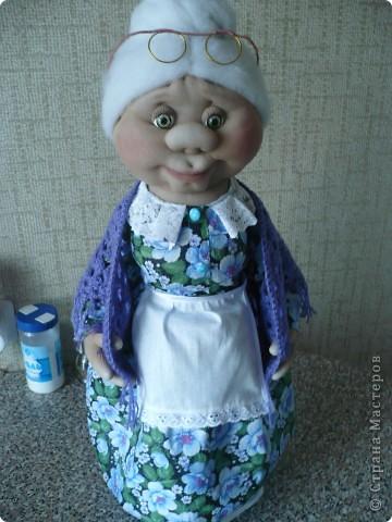 кукла была сделана по заказу знакомой в качестве подарка её родственнице. фото 1