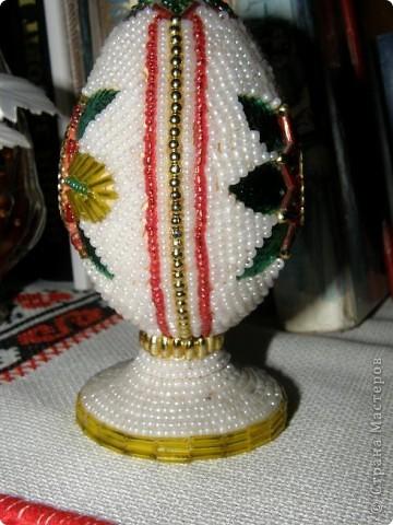 Великоднє яйце з бісеру фото 3