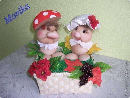 Мухаморчик и Поганочка )) фото 1