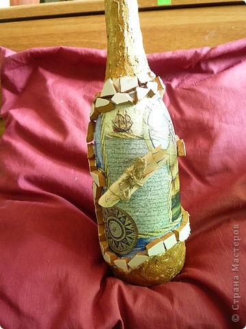 Затонувшая бутылка фото 2