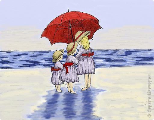 """""""Діти на пляжі""""  фото 1"""