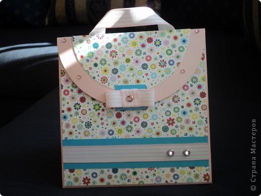 Теперь и у меня появилась такая сумочка!