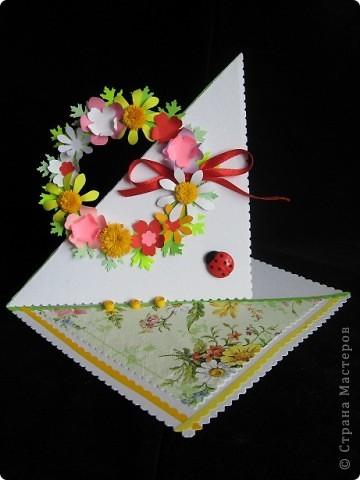 """""""Срочная"""" открытка на день рождения. Хотелось передать июльский жар лета, луговое цветение и добела выцветшее небо фото 1"""
