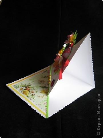 """""""Срочная"""" открытка на день рождения. Хотелось передать июльский жар лета, луговое цветение и добела выцветшее небо фото 2"""