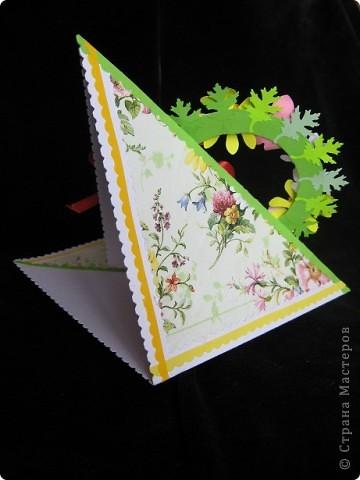 """""""Срочная"""" открытка на день рождения. Хотелось передать июльский жар лета, луговое цветение и добела выцветшее небо фото 3"""
